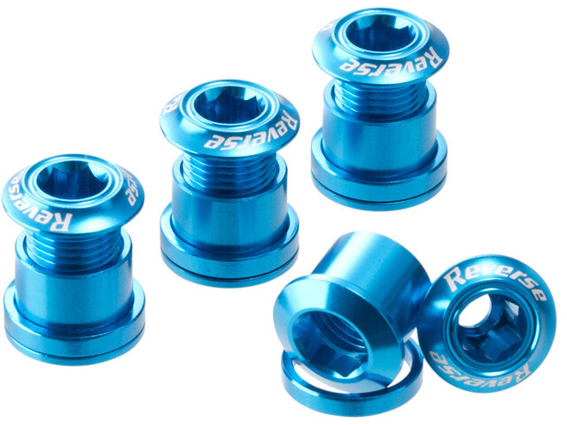 Reverse Chainring Bolts blue